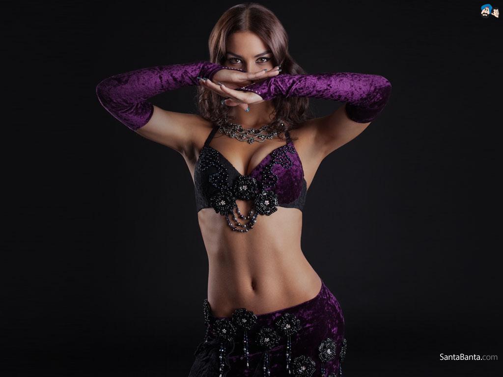A belly dancer a snake charmer cum 10