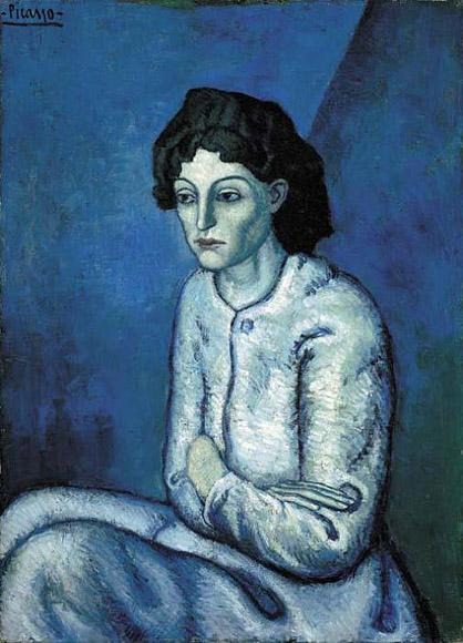 Picasso, Woman with Folded Arms, 1902