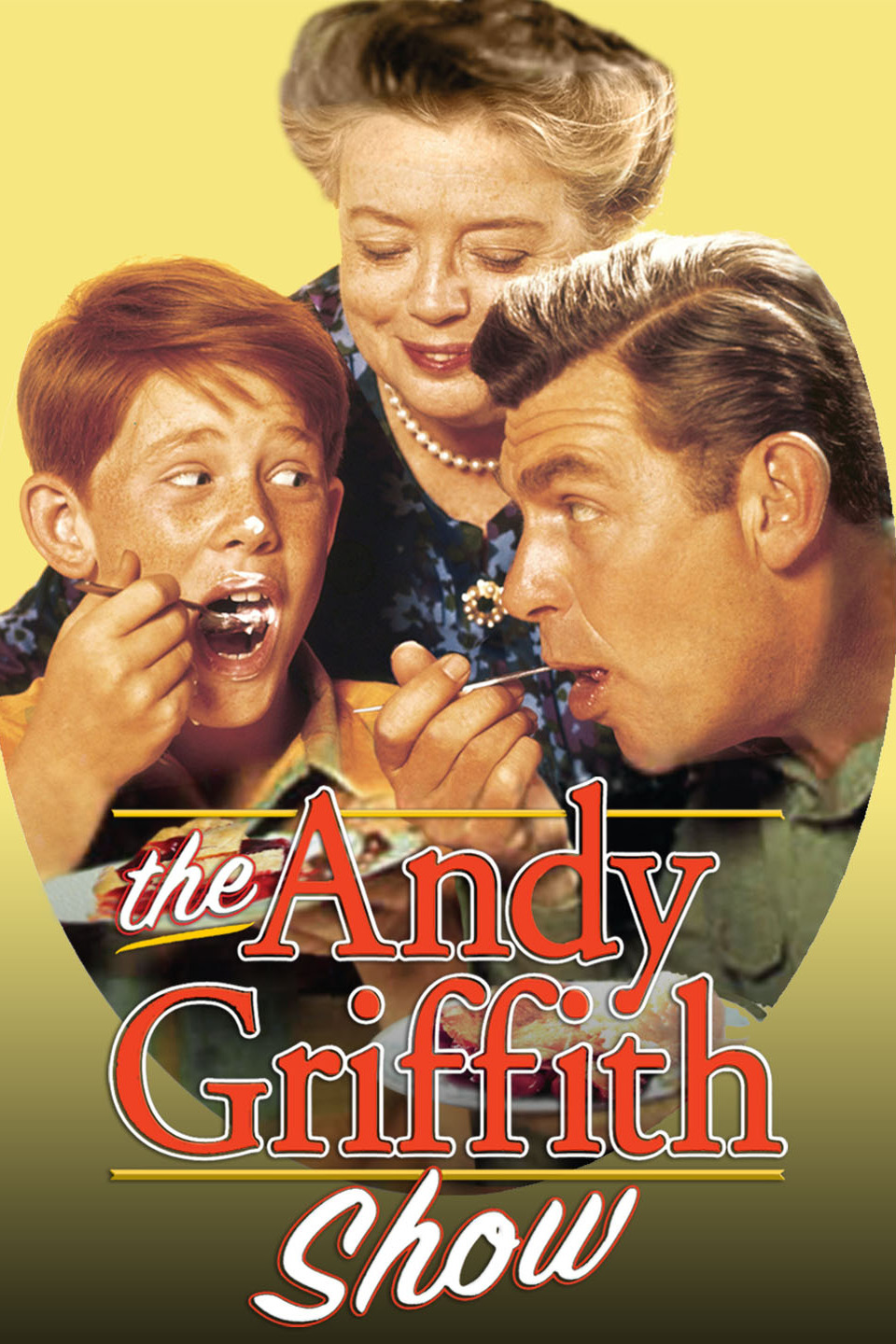 The Andy Griffith Show: Ron Howard, Frances Bavier and Andy Griffith (from left) © Paramount Pictures, All Rights Reserved.